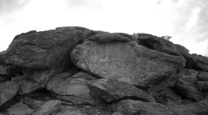 Petroglyphs in South Mountain, Part II