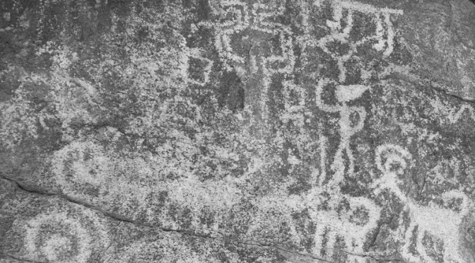 Petroglyphs in South Mountain, Part III